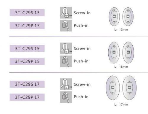 3T-C29 Slicone Nose Pad